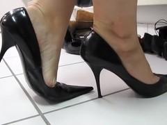 Black sexy Bagatt High Heels shoeplay