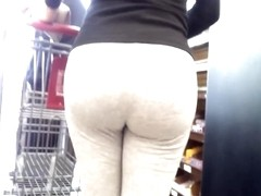 AssTracker Candid: Latin Milf Bubble Butt