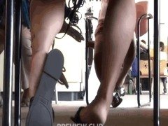 Latina Heel Slapping