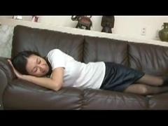 Japonese Horny Stepmom