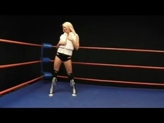 Brunette vs Blonde Beat Down