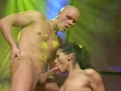 Hotty Black's Sex On Stage!