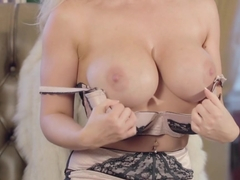 Exotic pornstar in Hottest Solo Girl, Blonde sex video
