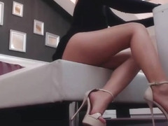 Sexy girl and high heels