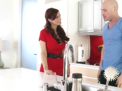 Brazzers - Milfs Like it Big - Syren De Mer Johnny Sins - Youre a Man Now Johnny