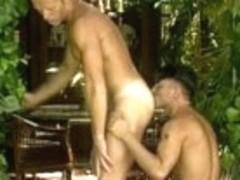 Amazing male pornstar in crazy tattoos, blowjob gay sex video