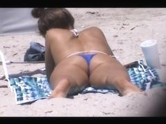 tourist milf beach crotch shot spy 100, catches me,
