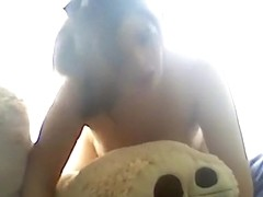 Moaning brunette has reverse cowgirl, doggystyle and oral sex.