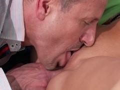 Exotic pornstars Candy Alexa, George in Horny Creampie, Romantic adult clip