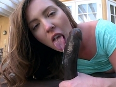 Maddy OReilly ass fucked by black dick