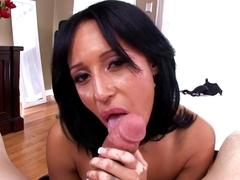 Fabulous pornstars Faustine Lee, Bianca Mendoza in Exotic POV, Facial xxx movie