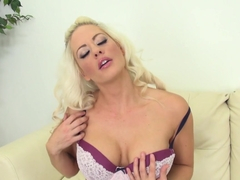 Amazing pornstar Holly Heart in Incredible Masturbation, Stockings xxx movie
