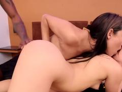 Best pornstar Jenny Lopez in amazing threesome, college sex scene