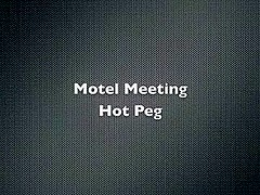 Hotel meeting with hot peg