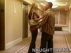 Trio begins in hotel hallway