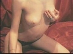 Teen Show-off Rubs Her Tight Pussy