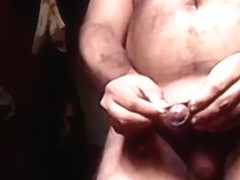 NUDE BOY WALKING NUDE SHOWING CUTE COCK
