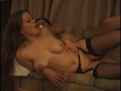 Redhead Brit Autumn Leg Play And Fucking