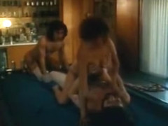 Incredible lesbian classic scene with Rick Lutze and Larry G. Spangler
