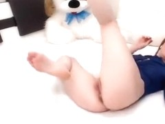 SexyElenPUSSY fucks herself with dildo
