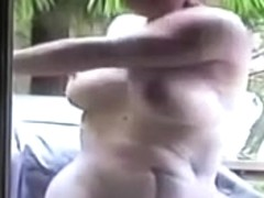 Seemoramee  Exercising Outdoors Naked