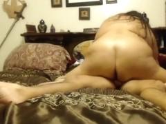 Slut rides me in sexy amateur couple porn clip