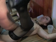 Exotic pornstars Sofia Valentine, Kristi Lust and Dorina Gold in crazy lingerie, mature xxx scene