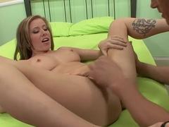 Hottest pornstar Cali Lakai in horny facial, blonde porn scene