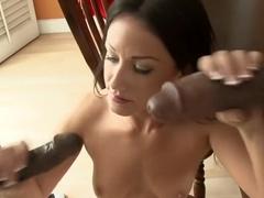 Exotic pornstar Angelica Sky in horny hardcore, big cocks adult clip