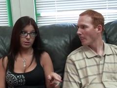 Horny pornstar Rachel Lynn Porter in best creampie, brazilian porn video
