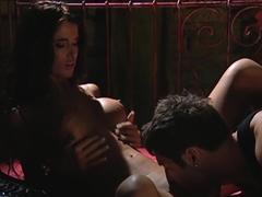 Horny pornstar Nessa Devil in incredible latina, facial porn clip