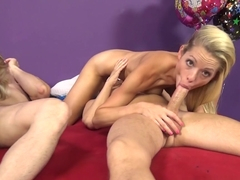 Incredible pornstars Katie Lewis, Cherry Morgan, Scott Lyons in Amazing Big Tits, Threesomes porn .