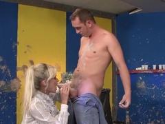 Horny pornstar Laura Crystal in exotic facial, cumshots xxx video