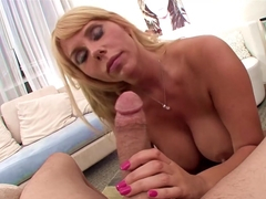 Exotic pornstar Karen Fisher in Fabulous Swallow, MILF porn movie