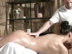 Sexy Russian Milf has multiple orgasms from expert masseur
