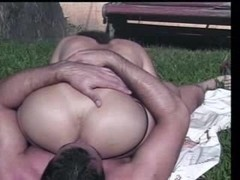 Raunchy Couple In Outdoor Depravity