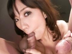 Best Japanese model Manami Komukai in Crazy JAV uncensored Lingerie video