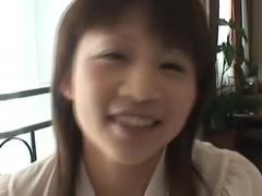 Ami Kitazawa Uncensored Hardcore Video with Swallow scene