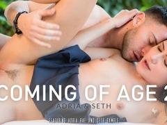 Adria Rae & Seth Gamble in Coming Of Age 2, Adria & Seth Video