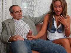 TrickyOldTeacher - Erotic and sexual teacher fucks sexy student hard until cumming