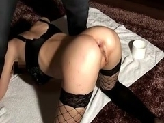 German wife assfucked with a bottle