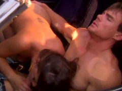 Penny makes out and fucks a guy