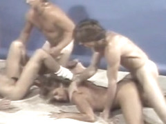 Hottest vintage scene with Michael Cates and Ginger Lynn