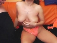 Sizzling Hot Nerdy Brunette Got Fucked Hard