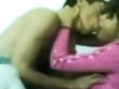 pink lady is sucking small soft cock