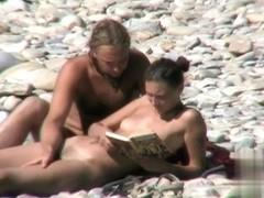 Nude Beach. Voyeur Video 171
