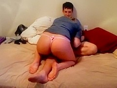 Beautiful hottie fucking on camera