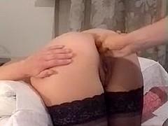 aldonze bitch c double anal fist