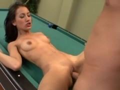 Teen bitch Amia Miley gets her way.
