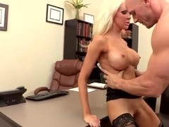 Naughty teacher Holly Price needs a hard fuck!